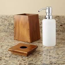 Teak 3 Piece Bathroom Set Bathroom With Regard To 3 Piece Bathroom ...