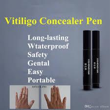 Vitiligo Concealer Liquid Pen Waterproof Vitiligo White Spots Natural Hide Leukoderma Instant Makeup Covering Solution For Skin Disease