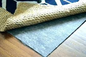 best carpet pad padding for under area rugs s glue removal mat material cost car pads