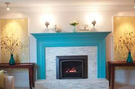 painting brick fireplace color ideas home design pertaining