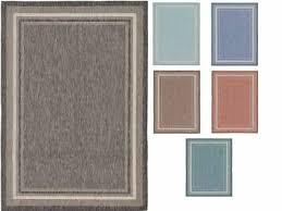 modern thin plain area rug contemporary border carper small large outdoor