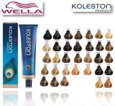Wella Color Perfect Hair Color Chart Wella Koleston Perfect Permanent Hair Colour From 4 99