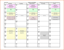 school schedule template new calendar survey words college college school schedule template