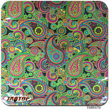 Hydro Dipping Patterns Simple ITAATOP TSHY48 4848m48m Pva Colorful Flower Hydrographic Film