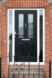 front door with side panel glass tegrated grey front door with glass side panels