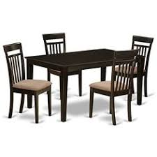 east west furniture cap5scapc 5piece formal dining table set continue to the at the