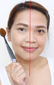 oval makeup brushes review. a photo of purple tags oval brush and proud mary bb cream makeup brushes review t
