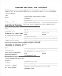 Standard Notarized Authorization Letter Giving Consent Sample ...