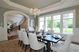 green dining room colors. Octagonal Tray Ceiling Green Dining Room Colors N