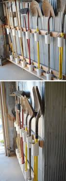 tool storage ideas for small spaces. Brilliant Small PVC Pipe Tool Storage  Easy Organization Ideas For The Home DIY Garden  In For Small Spaces T