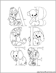 genuine precious moments letters coloring pages alphabets preciousmoments free printable colouring