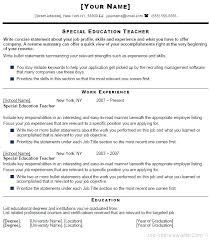 Teacher Resume Template Word Simple Format For Teacher Resume Faculty Resume Format Teaching Resume