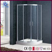 offset quadrant sliding curved shower enclosure doors 36 in x 36in 3