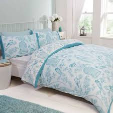 bird cage double duvet cover duck egg free delivery over 30 on all uk orders