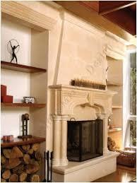 88 Best Stone Mantel Ideas Images On Pinterest  Fireplace Ideas Limestone Fireplace Mantels