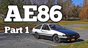 Regular Car Reviews: 1985 Toyota AE86 Sprinter Trueno, Part 1 ...