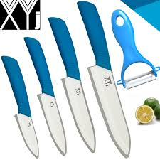 ceramic kitchen knife utility: aliexpresscom buy xyj brand ceramic knife set of kitchen knives chef slicing utility paring knife ceramic peeler cooking tools non slip handle from