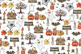 Halloween Pattern Delectable Pattern On The Theme Of Halloween Graphic Patterns Creative Market