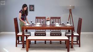 6 seater dining set 6 seater dining sets in amazing designs wooden street