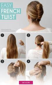 Hair Style Pinterest best 25 easy french twist ideas french twist 3945 by wearticles.com