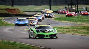 First Round Of Racing Complete For Ferrari Challenge Na