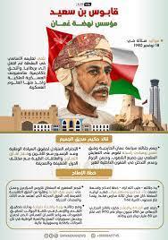 السلطان قابوس بن سعيد مؤسس الدولة العصرية - sadf-lop