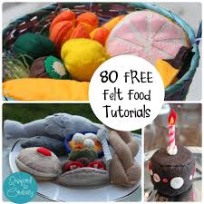 Felt Food Patterns Classy Felt Toy Food Huge List Of 48 Free Patterns Tutorials Updated