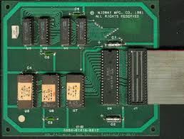 lawnmowerman s pac man page parts information and pac man ms pac man requires auxiliary board shown below 2 new eproms at 5e 5f