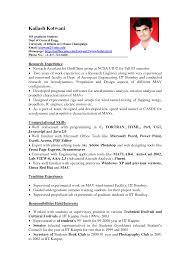 Resume Format Of Experience Sugarflesh