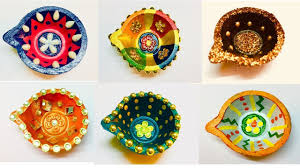 Diya Painting Designs How To Decorate Diyas For Competition 15 Steps With Pictures