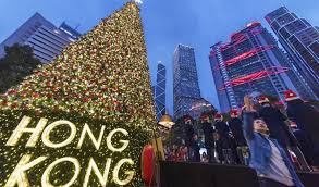 spend christmas holidays in hong kong