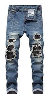pantalones rotos hombre mercadolibre