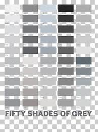 50 Shades Of Gray Color Chart 30 Fifty Shades Of Black Png Cliparts For Free Download Uihere