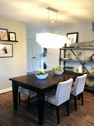 lighting for dining table room ceiling extra long sets