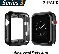 YoLin Apple Watch Series 3 <b>Screen Protector</b>, iwatch Cover <b>Soft</b> ...