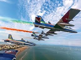 Frecce Tricolori - Air show - Lignano Sabbiadoro 25 Agosto 2021