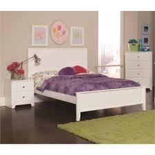 Coaster Ashton 3 Piece Full Panel Bedroom Set in White