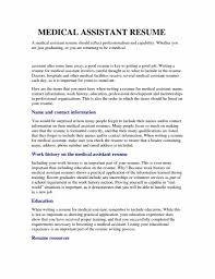 Medical Assistant Resume Samples Job Sample Resumes