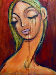 crying girl painting   Brooke Duhe   Flickr
