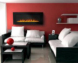exquisite design black white red. Exquisite Modern Red And Black Living Room Decoration With Rectangular  Wall Mount Gel Fuel Fireplace Along Paint Exquisite Design Black White Red B