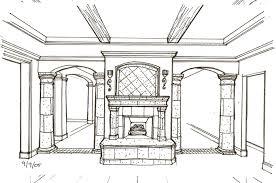 interior design drawings. Drawing 2 Interior Design Drawings O