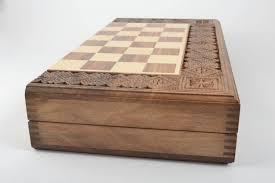 Handmade Wooden Board Games MADEHEART Unusual handmade wooden chessboard wood craft chess 50