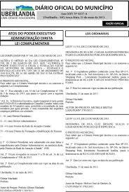 DIÁRIO OFICIAL DO MUNICÍPIO - PDF Download grátis