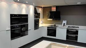 kitchen with white cabinets and built in modern kitchen built in kitchen appliances liverpool