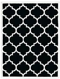black and white rugs ikea black and white rug trellis design black white area rug black