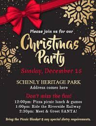 christmas event flyer template christmas party flyers under fontanacountryinn com