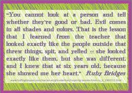 Ruby Bridges Quotes Adorable Quotes That Ruby Bridges Said Ruby Bridges As Quoted By Marian