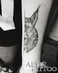 рысь татуировки Rustattooru тольятти