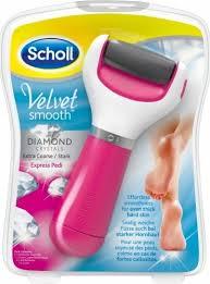 <b>Электрическая роликовая пилка</b> для ног <b>Scholl</b> Velvet Smooth ...