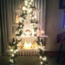 Christmas Tree Village Display Stands Christmas Tree Ladder Decoration Find A Ladder Some Mason Jars 49